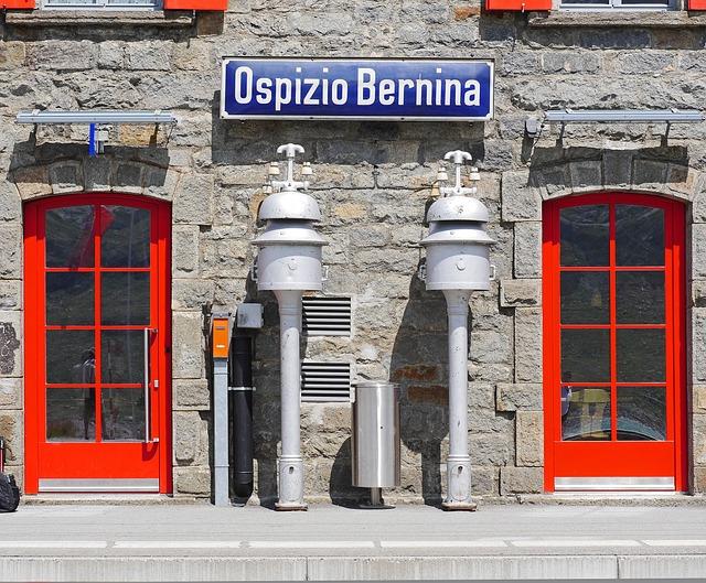 Bernina, Pass, Railway Station, 2256 M, Ospizio Bernina