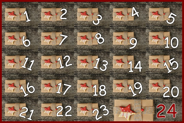 Advent Calendar, Door, Advent, Pay, Surprise, 24