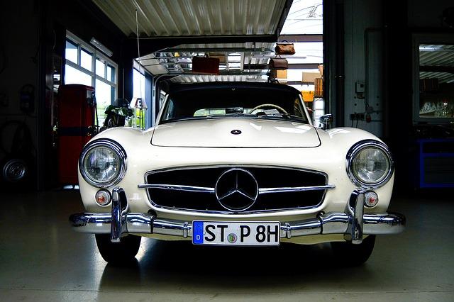Mercedes-benz 300 Sl, Gull Wing Doors, 300, Oldtimer