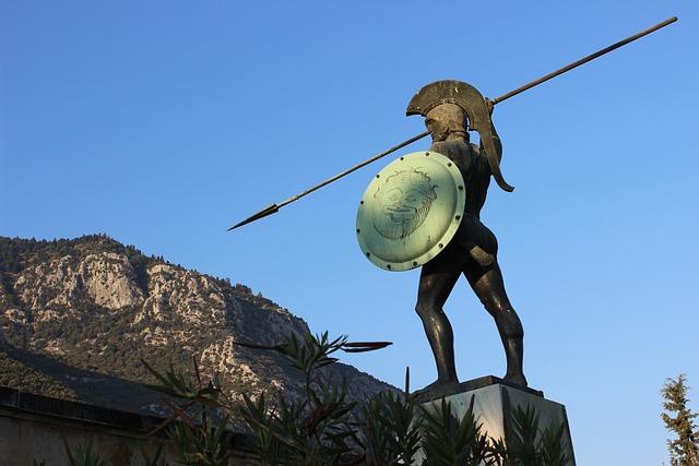 Greece, 300, Statue, Sculpture, Travel, Sparta, Antique