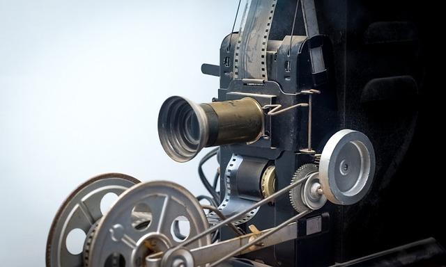 Film, 35mm, Vintage, Projector, Antique, Movie