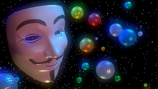 Anonymous, Digital, Face, Mask, Color, 3d, Blender