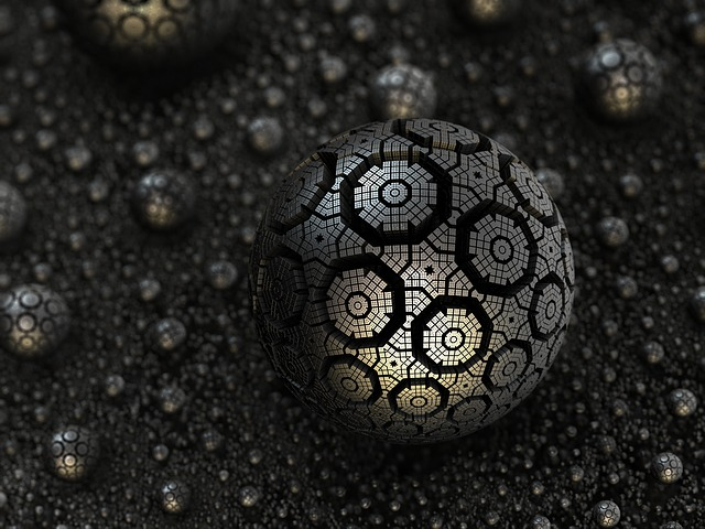 Fractal, Sphere, Render, 3d, Decorative