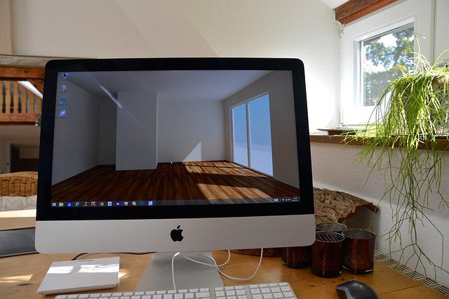Workplace, Imac, Computer, Desktop, 3d, Visualization