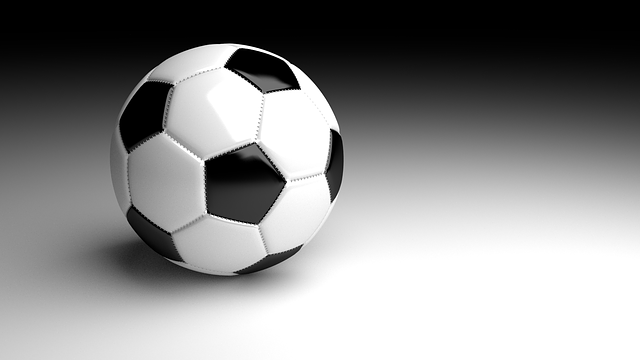 Football, Ball, 3d, Raytracing, Blender