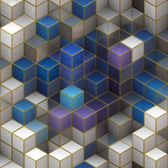 Cube, Cubic, Design, 3d, Shape, Square, Geometric