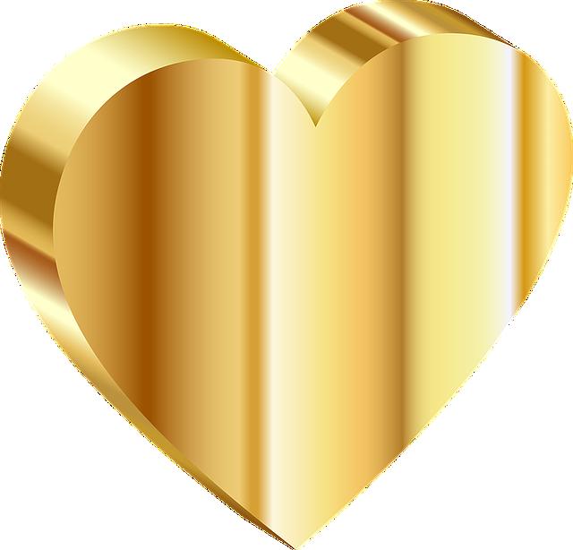 Heart, 3d, Isometric, Love, Relationship, Romance