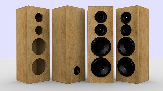Woofer, Electronics, Speaker, 3d Modeling, Sound