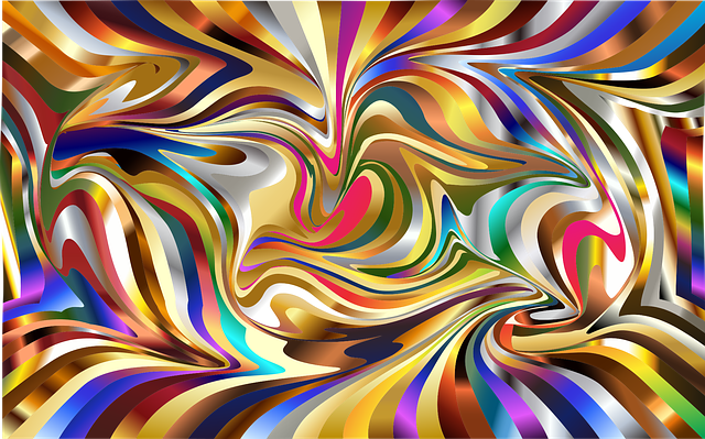 Wallpaper, Psychedelic, Background, 16x10 Ratio, 3d