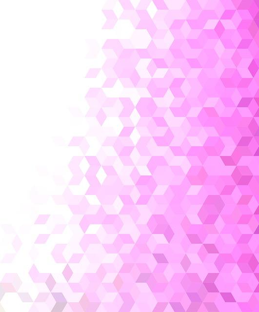 Pink, Background, Pattern, 3d, Rhombus, Geometric, Tile
