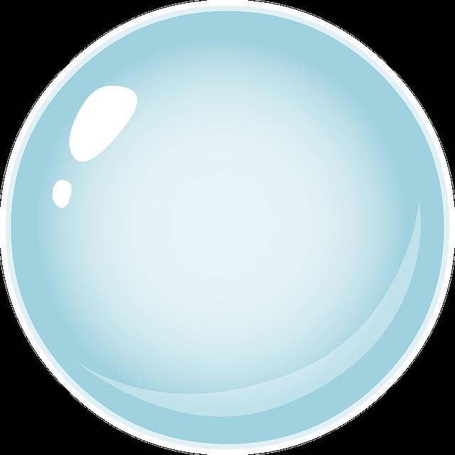 Circle, Ball, Blue, Bubble, 3d, Sphere, Round, Balloon