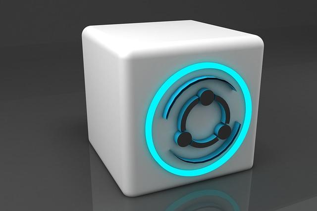 Share, 3d, Logo, Technology