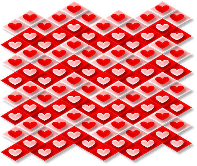 Love, Hearts, Valentine's Day, Pink, Red, 3d, Pattern