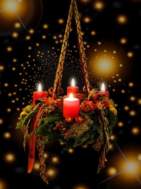 Advent, Christmas Time, Advent Wreath, 4advent