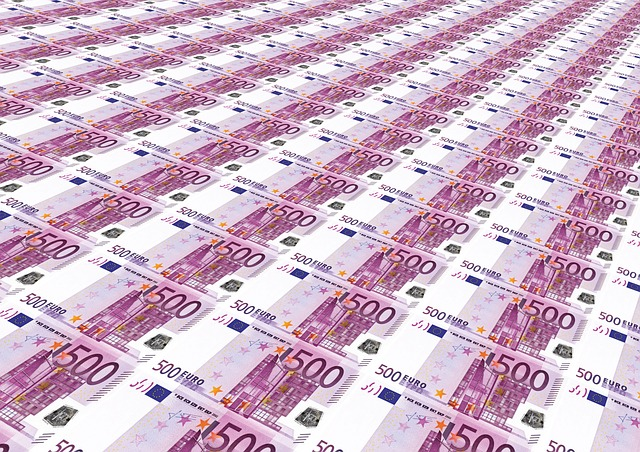 Money Glut, 500 Euro, Euro, Stack, Money, Currency, 500