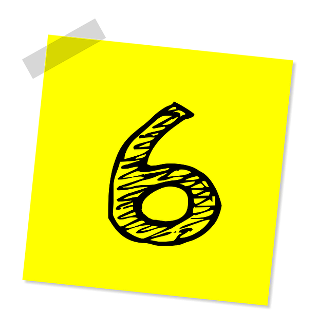 Six, 6, Number, Ranking, Rating, Business, Symbol, Icon