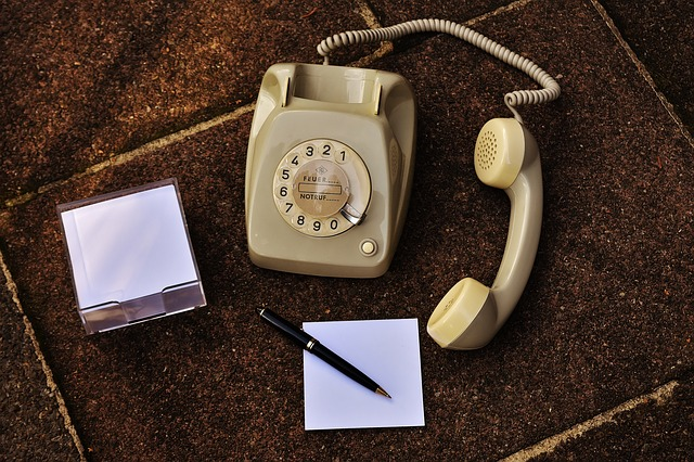 Old Phone, 60s, 70s, Grey, Dial, Post, Phone
