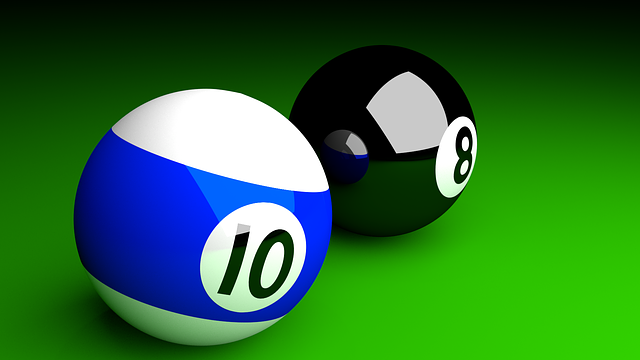 Bilardkugeln, 3d, Raytracing, Ball, Balls, 10, 8, Black
