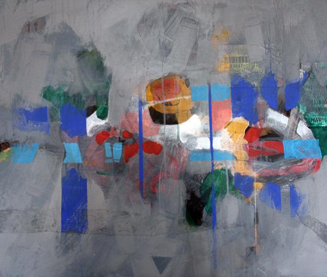 No Title, Mixed Media, On Board, 80 X 100cm 2013
