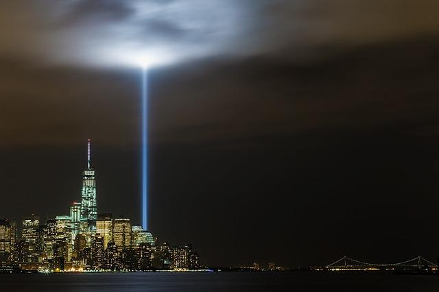Nyc, New York, 911 Memorial, 911 Lights Memorial
