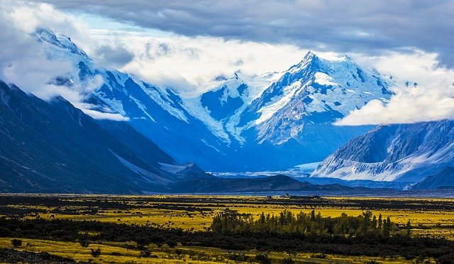 Mountain, A Bird's Eye View, Nature, Landscape