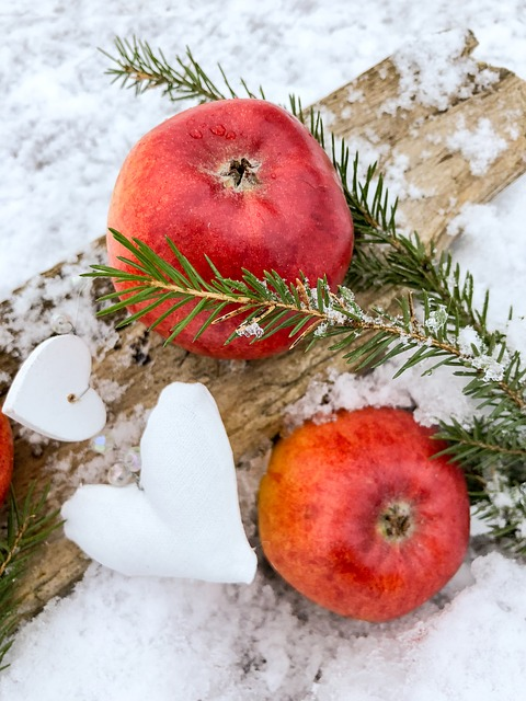 Apple, Red Apple, Fruit, A Delicious, Healthy, Food