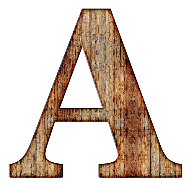 Alphabet, Letter, Initial, Background, Scrapbooking, A