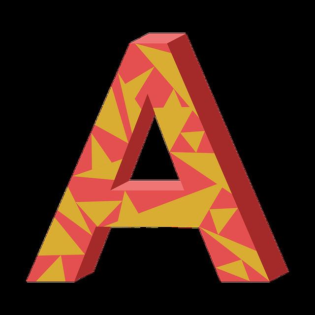 A, Letter, Ah, Aha, Alphabet, Language, Syllable