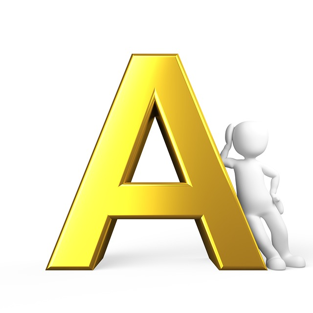 A, Letter, Alphabet, Alphabetically, Abc