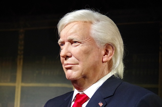 Trump, The President Of The, Us, A Wax Dummy