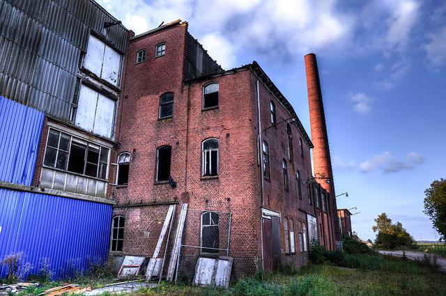 Abandonded, Factory, Hdr, Old, Abandoned, Building