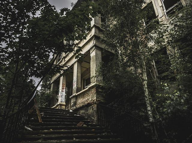 Lost Place, Horror, Abandoned Building, Leave, Run Down