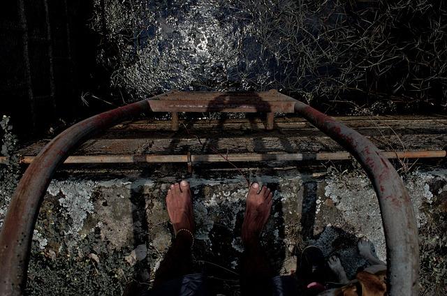 Pool, Abandoned, Feet, Oxide, Dirt, Soledad