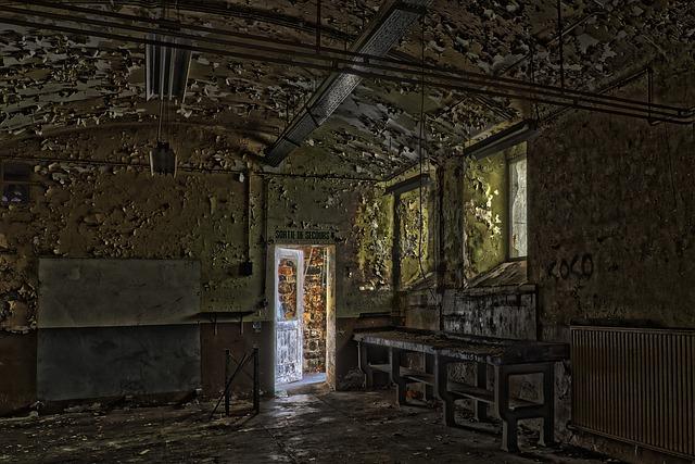 Architecture, House, Abandoned, Window, Room, Door