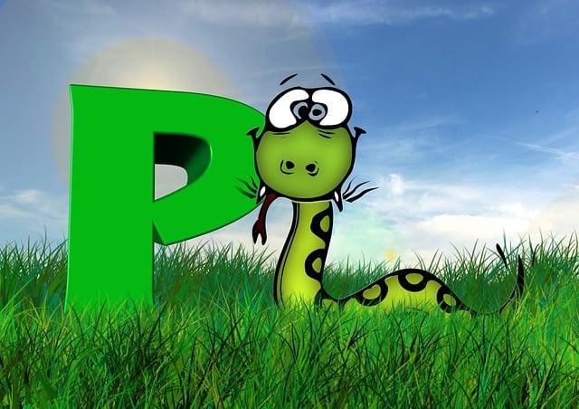 Letters, Abc, Education, Python, Snake, Alphabet