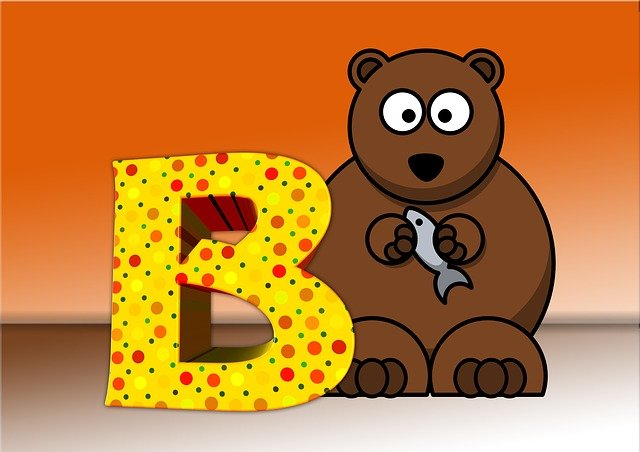 Letters, Abc, Education, Bear, Alphabet, Literacy