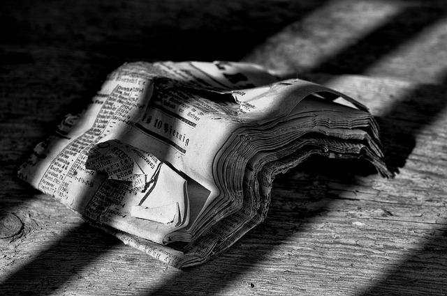 Newspaper, Daily Newspaper, Abendblatt, Wood Floor, Old