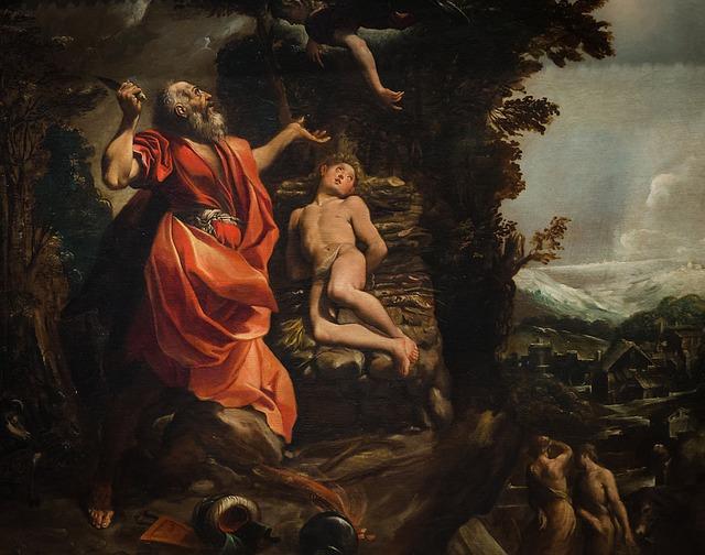 Abraham, Isaac, Bible, Sacrifice, Trial, Catholic