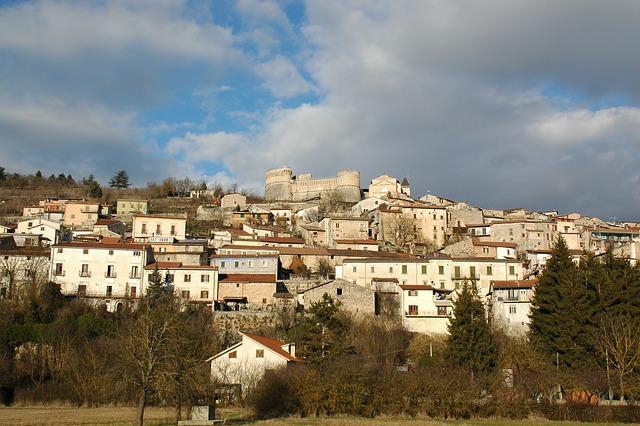 Country, Abruzzo, Sun, Sky, Clouds