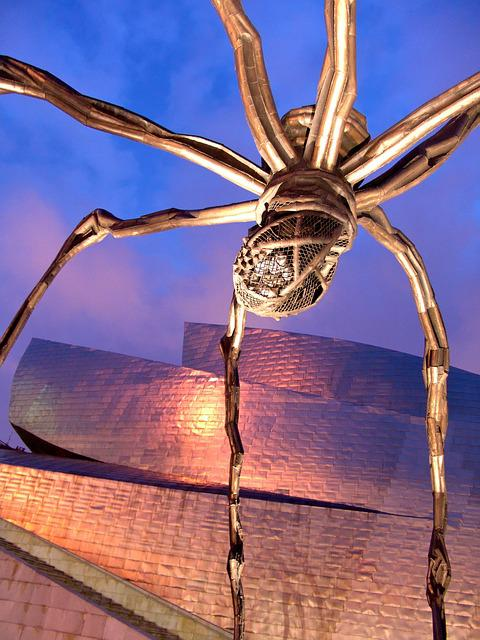 Artwork, Bilbao, Spider, Giant, Guggenheim, Abstract