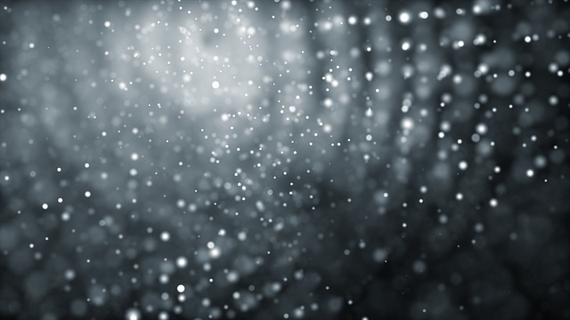 White, Dots, Form, Light, Abstract, Background