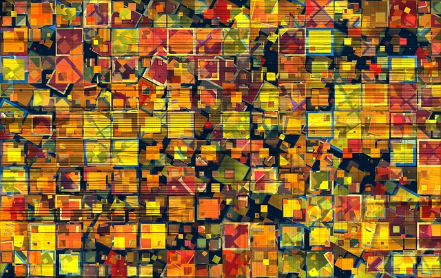 Color, Abstract, Artifact, Pixel, Background, Textures