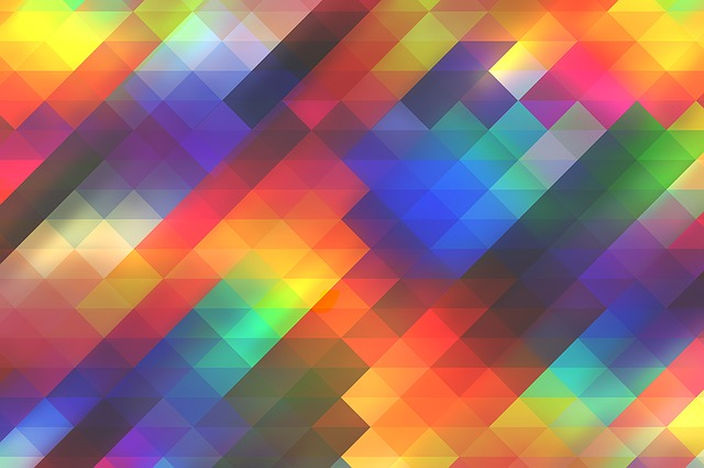 Abstract, Background, Triangle, Geometric, Blurs