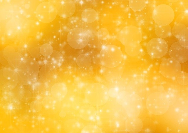 Gold, Golden, Background, Holiday, Bokeh, Abstract
