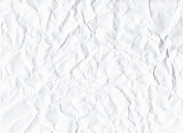 Crumpled, Paper, Abstract, Antique, Background, Empty
