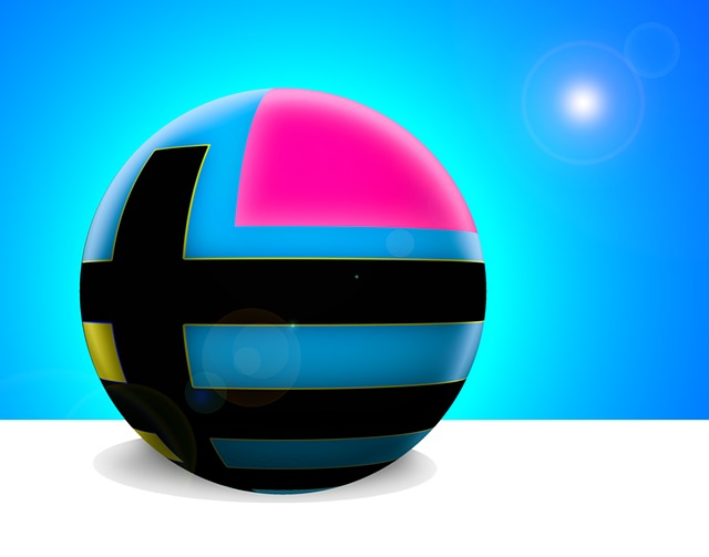 Digital Art, Ball, Abstract