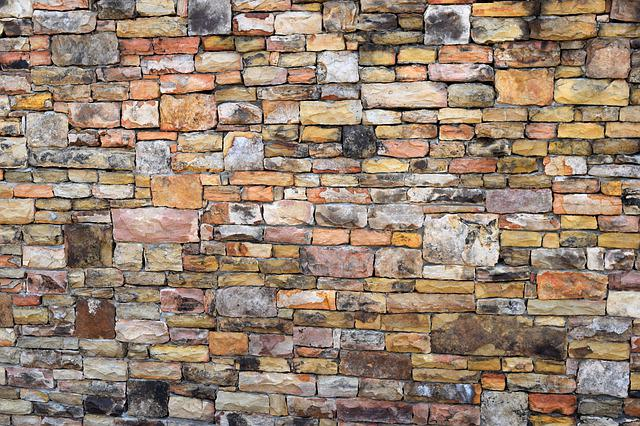 Wall, Stone, Pattern, Brick, Old, Exterior, Abstract