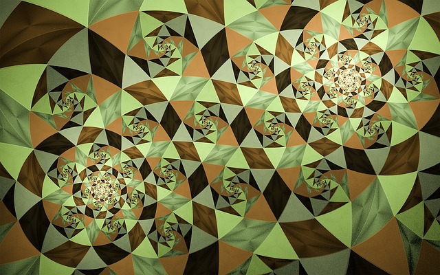 Fractal, Mosaic, Abstract, Fractal Art, Pattern