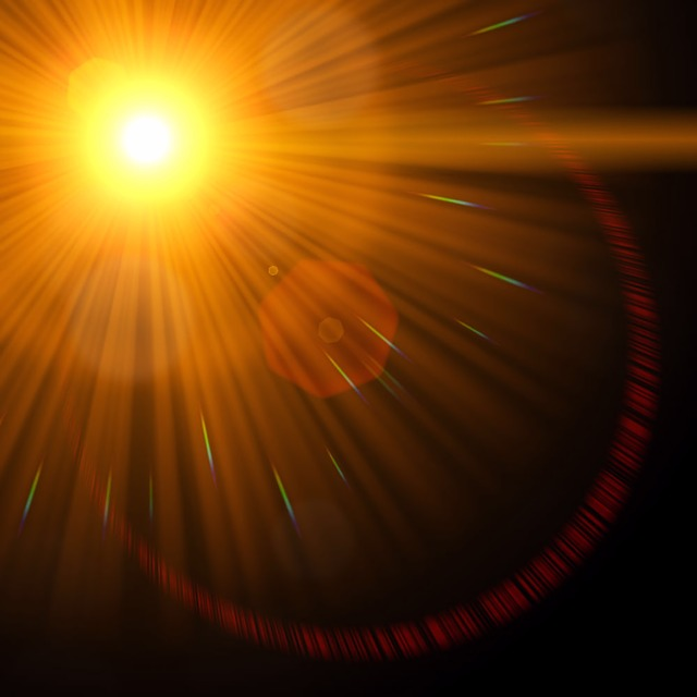Graphic, Abstract, Lens Flare