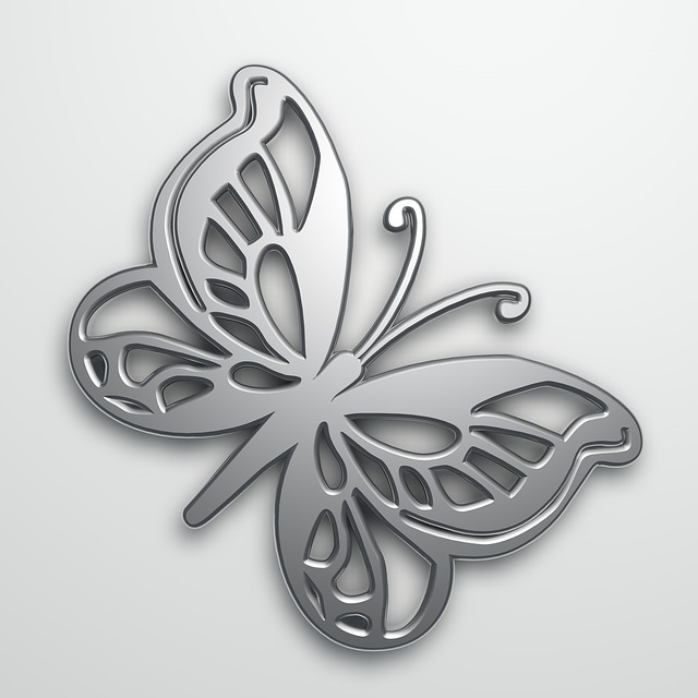 Butterfly Vector, Template, Abstract